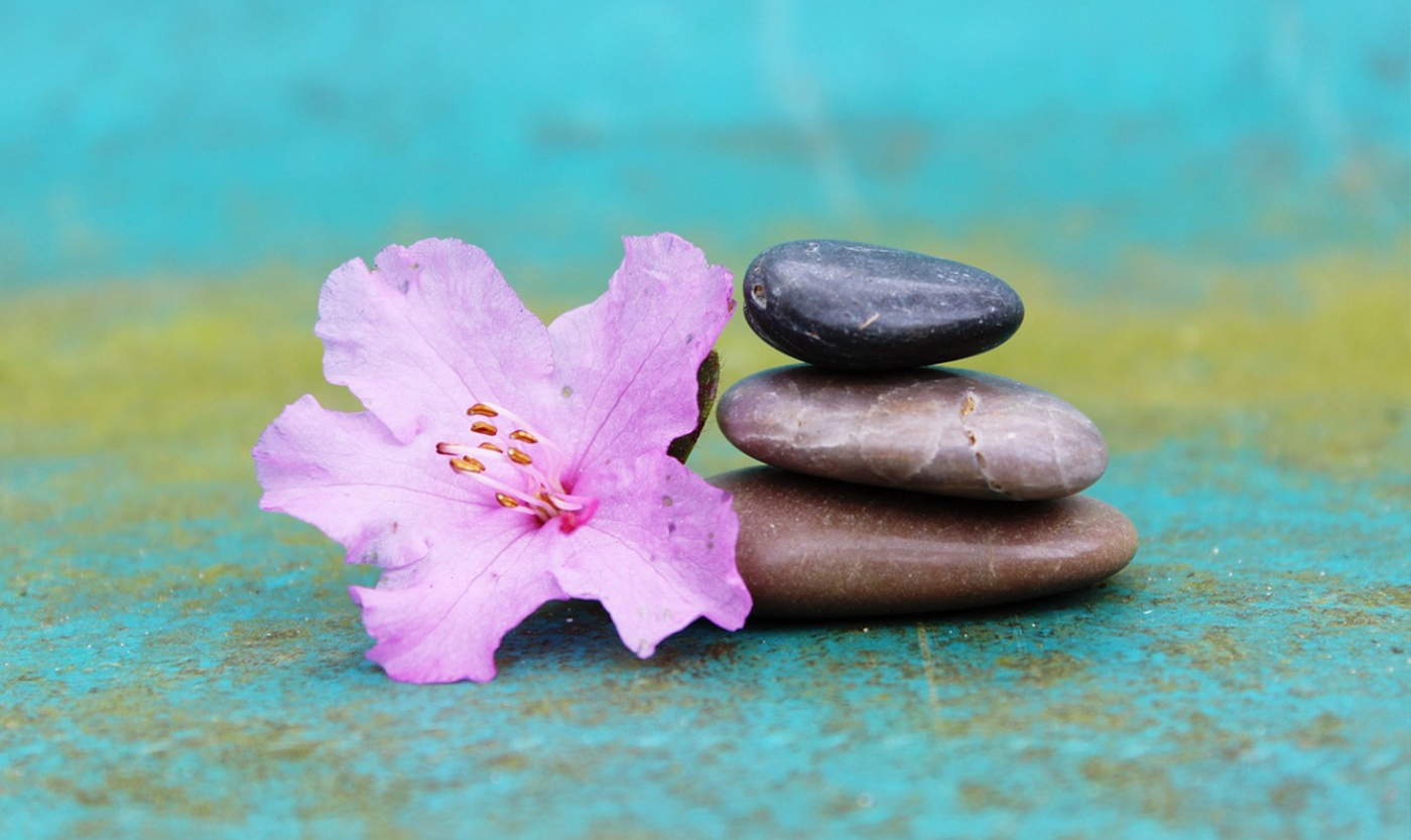 Meditation & Entspannung: Steinstapel