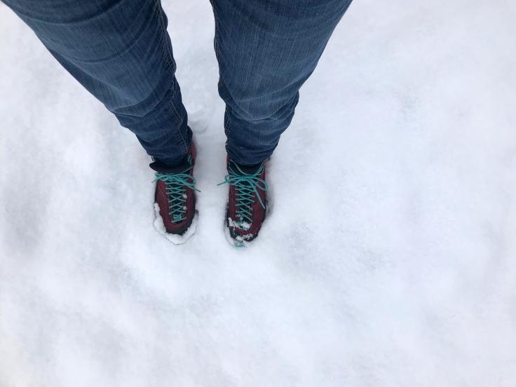 Achtsamer Winterspaziergang
