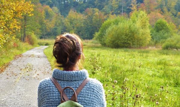 Abschiedsritual: Trauer im Wald