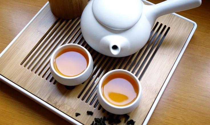 Tee für Mediation und Achtsamkeit