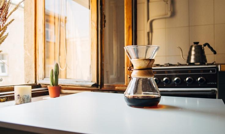 Der perfekte Start in den Tag: Kaffee trinken