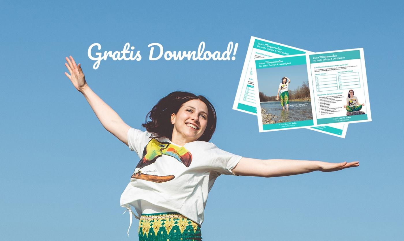 Morgenroutine für mehr Energie und Leichtigkeit von Sarah M. Richter- gratis Download