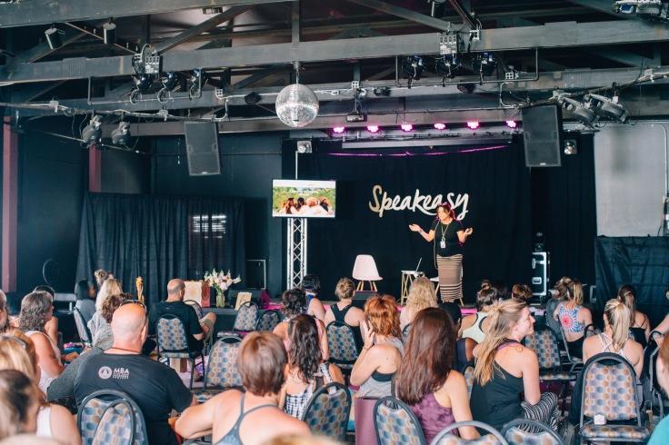 Reden auf der Bühne