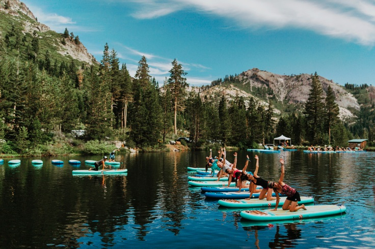 yoga sup standup paddling wanderllust festival gapa