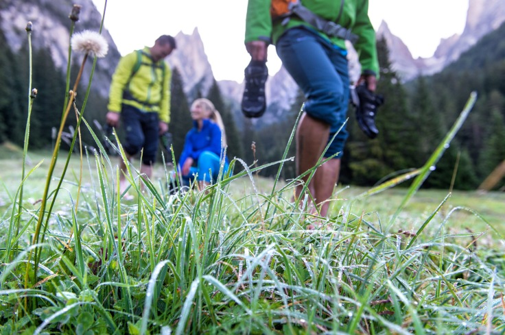 Tau treten in Südtirol
